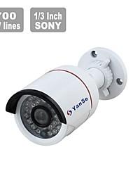 """yanse CCTV 700TVL 1/3 """"sony surveillance 24 ir balle caméra de vision nocturne en plein air 5824h"""