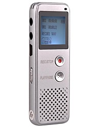 4G Mp3 Professional High-definition Digital Voice Recorder Dictaphone Silver