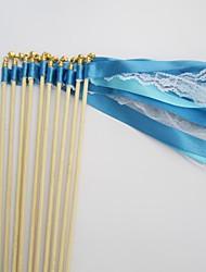 Party Satinband Spitzestab mit Glocke (Farbe sortiert)