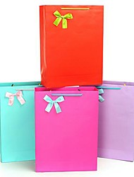 Coway 31.5*11*42 Exquisite Packaging Bag Solid Vertical Version of Simple Fashion Party Paper Gift Bag(Assorted Color)