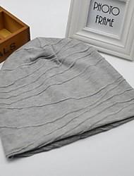 Frauen-Mode Persönlichkeit warmen Nadelstreifen Baumwolle Hut