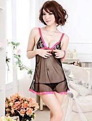 Women Babydoll & Slips Nightwear , Chiffon