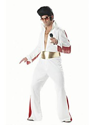 Rock Star Elvis Cosplay Adult Men's Halloween Costume