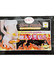 10 Pieces Slimming Navel Burning Fat Patch Slim Patch Losing Weight Slimming Products(30 Day/Courses)