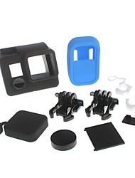 YuanBoTong   Camera Lens Cap Kits with Silicone Case  for GoPro Hero3+/3