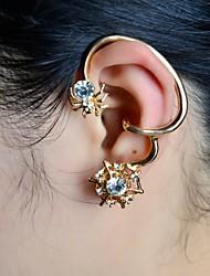 pietra moda ragno impostare polsini dell'orecchio