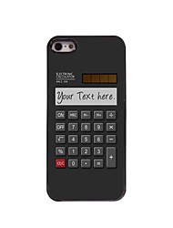 Personalized Gift Calculator Design Metal Case for iPhone 5/5S