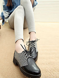 Damen Winter neue Mode niedrigen Absätzen Schuhe