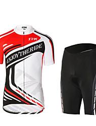 MYSENLAN Fahhrad/Radsport Kleidungs-Sets/Anzüge Herrn Kurze ÄrmelHohe Atmungsaktivität (>15,001g) / UV-resistant /