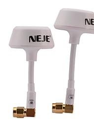 neje 5.8g антенна для модели R / C самолетов - белый (2 шт)