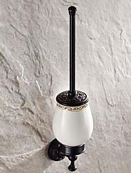 """Держатель для ёршика Тосканская бронза Крепление на стену 500 x 280 x 160mm (19.68 x 11.02 x 6.29"""") Медь Античный"""