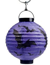 фиолетовые летучие мыши шаблон фонарь Holloween украшения (лампа исключены)