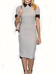 ORG Women's Slim Bodycon Dress