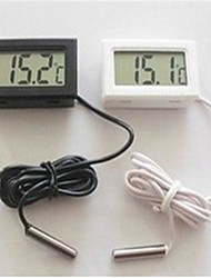 4,7 * 2,8 * 1,4 cm lcd aquarium koelkast elektronische digitale display thermometer.