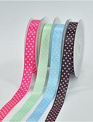 5/8 дюйма печати полиэстер цвет бути пояса расхода чернил четыре косой точка лента-10 двор каждый мешок
