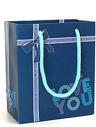 coway 12,5 * 7 * 15 edle Verpackung tiefblaue Liebe, die Sie Partei Papiergeschenkbeutel