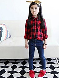 Girl's Fashion Jeans Lovely Princess Fall Jeans