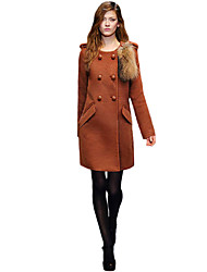 Women's Coats & Jackets , Wool Upfei