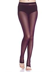 amar sexy pantalones de estribo de gasa de la manera de las mujeres even® (violeta)