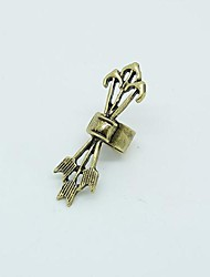 Ear Cuffs Alloy Punk Silver Bronze Jewelry Party Daily Casual