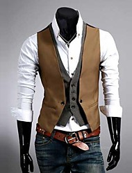 Men's Premium Layered Style Slim Vest