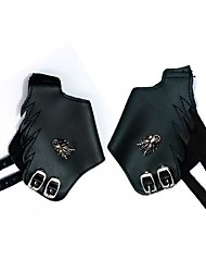 Gloves Inspired by Final Fantasy Cosplay Anime/ Video Games Cosplay Accessories Gloves Black PU Leather Male