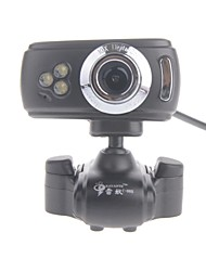 rayants c-006 8.0MP HD Webcam con la luce di visione notturna