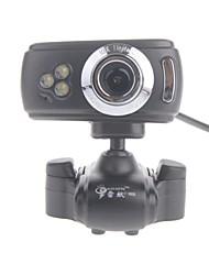 rayants c-006 webcam 8.0MP HD avec la lumière de la vision de nuit