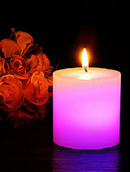 Romantic Light Sensor Paraffinic LED Electronic Candle