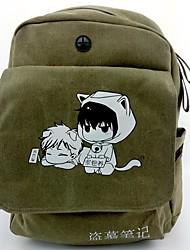 Bolsa Inspirado por Fantasias Fantasias Anime Acessórios de Cosplay Bolsa / mochila Verde Tela / Náilon Masculino