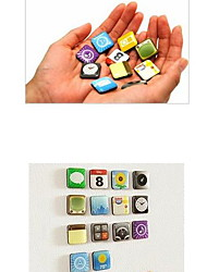 Funcky Ones Mobile Phone Software Fridge Magnets