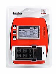 py-K2E 1000w x 2 à deux canaux moment rf toucher interrupteur de commande à distance - argent blanc (200 ~ 240V)
