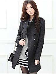 Европейская мода элегантный дешевые пальто heika женщин