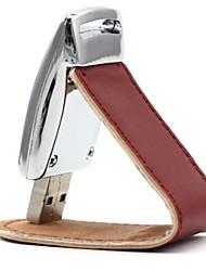 8gb искусственная кожа психического USB2.0 Flash Drive
