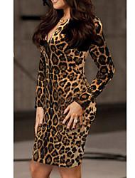 VERYM Women's Long Sleeve Sexy Slim Bodycon Dresses