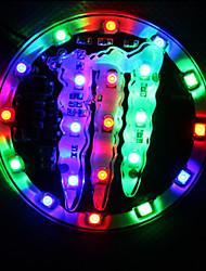 Finger Pattern Brake Tail Turn Signal lamp Light Amber Motorcycle Light