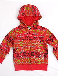 Children's Hoodies Fashion Winter Clothes Floral Embroidery Long Sleeve Gilrs Hoodies Random Print