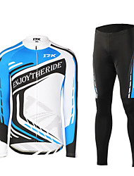 MYSENLAN® Cycling Jersey with Tights Men's Long Sleeve BikeBreathable / Thermal / Warm / Quick Dry / Ultraviolet Resistant / Moisture