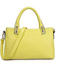 Donna Crocodile Handbag