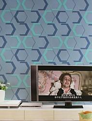 Tapeten Wandverkleidung, im europäischen Stil einfachen geometrischen Sechseck Vliestapete