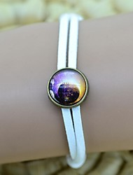 Women's Galaxy Star Pattern Series Time Gem DIY Bracelet