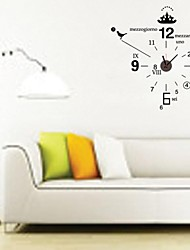 ZOOYOO®  Electronic battery horologe and timekeeper shape wall sticker home decor for you living room