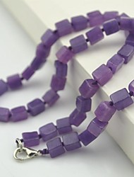 Purple Strands Necklaces Party / Daily Jewelry