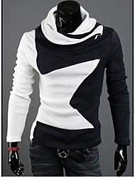 Men's Korea Twist Star Warm Long Sleeve Shirt