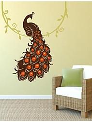 JiuBai® Peacock Wall Sticker Wall Decal