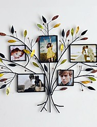 Metal Wall Art Wall Decor,Tree Frame With Decorative Shells Wall Decor