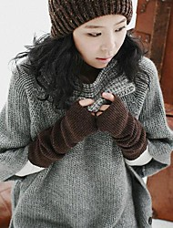 Unisex's Cashmere keep warm long Gloves
