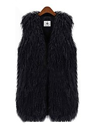 Fur Vest Faux Fur Warm Casual Long Vest(More Colors)