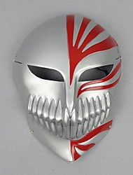 Bleach Hollow Ichigo Silver Cosplay Mask