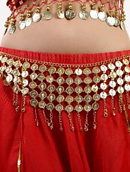 Belly Dance Women's Fashion Metal Coins Bell Tassel Waist Chain(More Colors)